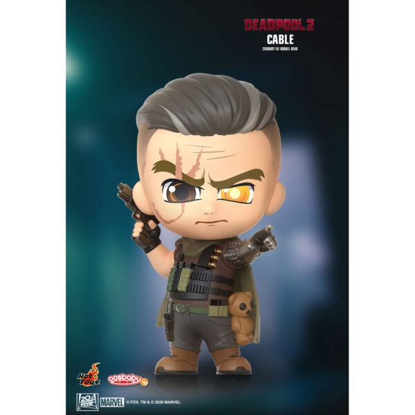 Deadpool - Cable Cosbaby(S) Hot Toys Figure