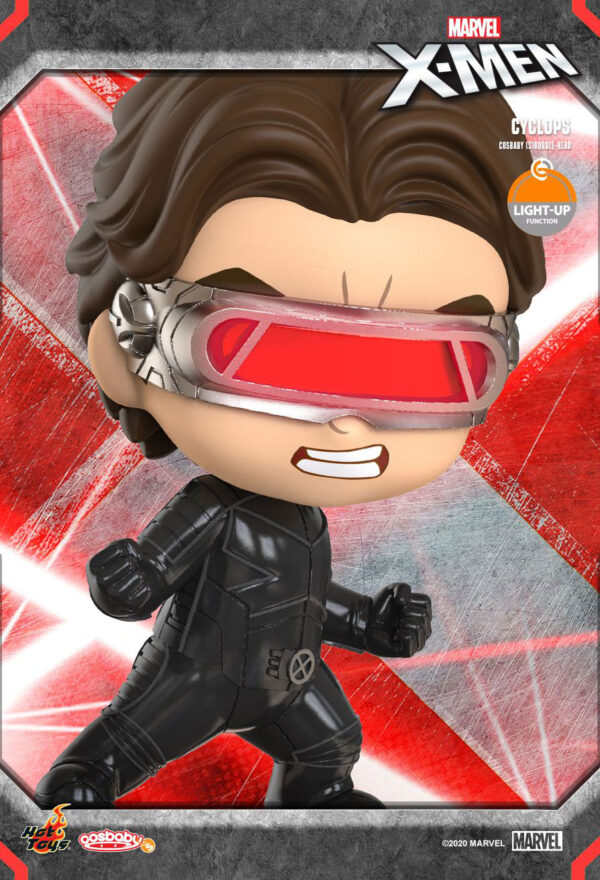 X-Men: The Last Stand - Cyclops Cosbaby (S) Hot Toys Figure