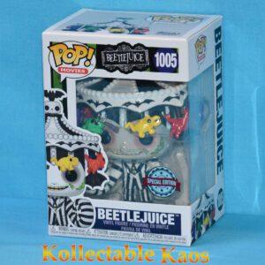 Beetlejuice - Beetlejuice with Hat Pop! Vinyl Figure