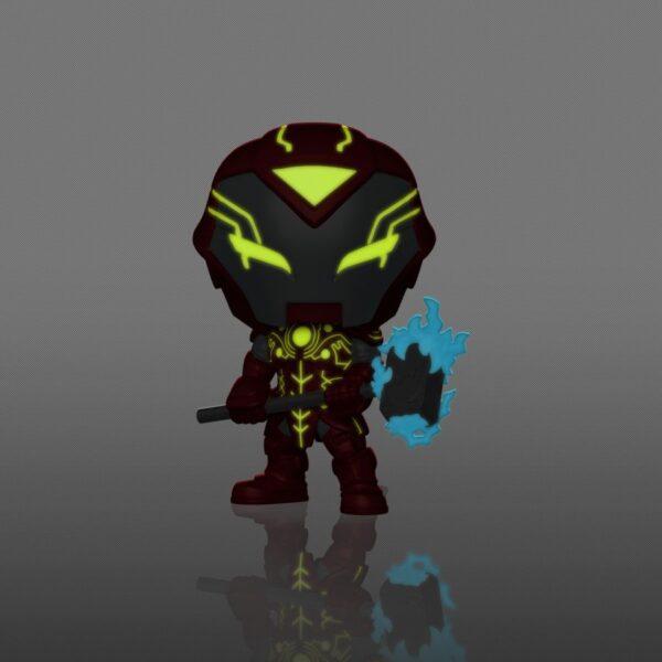 Infinity Warps - Iron Hammer Glow in the Dark Pop! Vinyl Figure