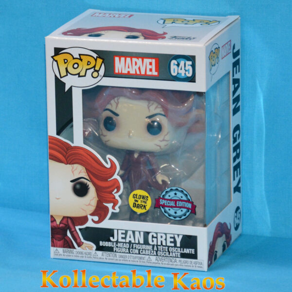 X-Men (2000) - Jean Grey Glow in the Dark 20th Anniversary Pop! Vinyl Figure