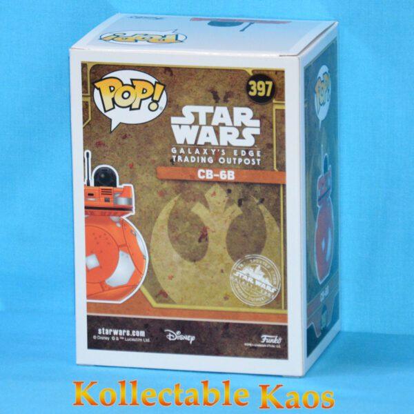 Star Wars: Galaxy's Edge - CB-6B Pop! Vinyl Figure