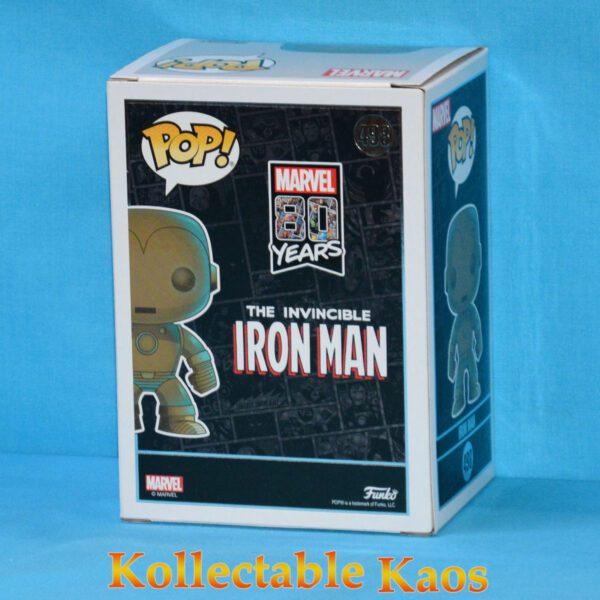 The Avengers - Iron Man Patina 80th Anniversary Pop! Vinyl Figure