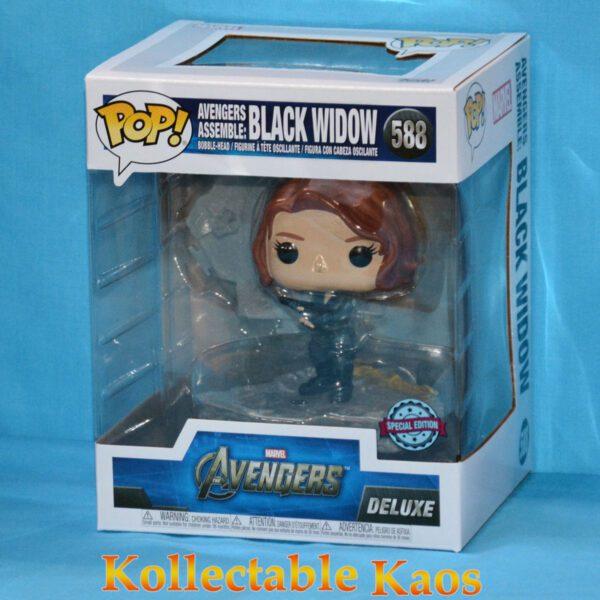 The Avengers - Black Widow Assemble Diorama Deluxe Pop! Vinyl Figure