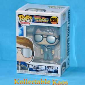 Back To The Future - Marty McFly with Sunglasses Pop! Vinyl Figure