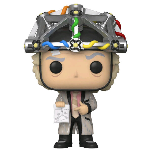 Back To The Future - Dr. Emmett Brown with Helmet Pop! Vinyl Figure