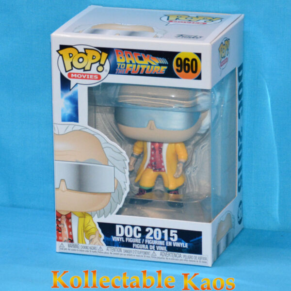 Back To The Future - Dr. Emmett Brown 2015 Outfit Pop! Vinyl Figure