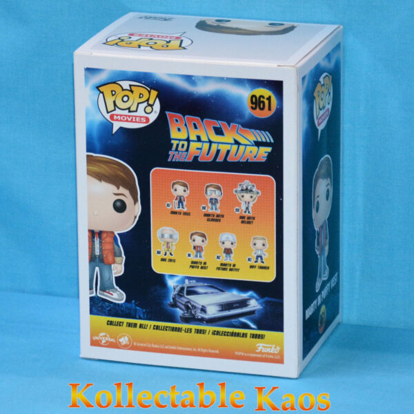 Back To The Future - Marty McFly with Puffy Vest & Video Camera Pop! Vinyl Figure