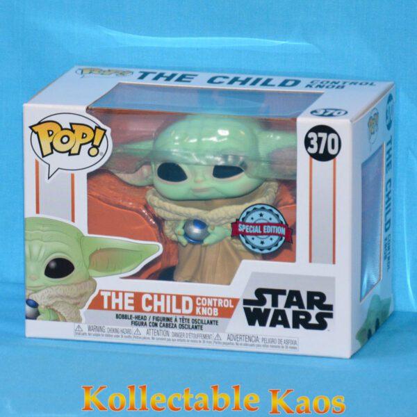 Star Wars: The Mandalorian - The Child with Control Knob Pop! Vinyl Figure
