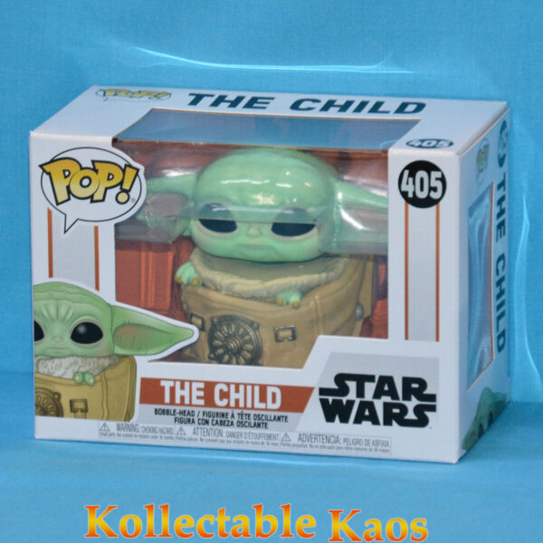 Star Wars: The Mandalorian - The Child in Rucksack Pop! Vinyl Figure