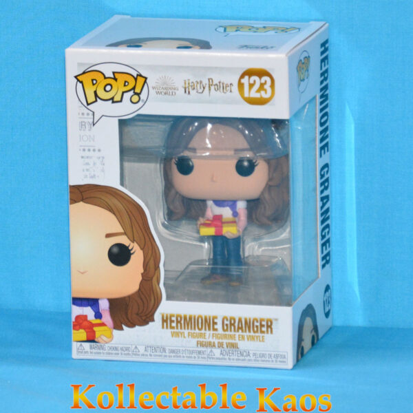 Harry Potter - Hermione Granger with Gift Holiday Pop! Vinyl Figure