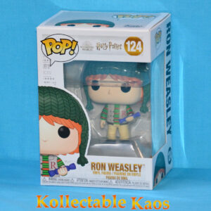 Harry Potter - Ron Weasley with Bon-Bon Holiday Pop! Vinyl Figure