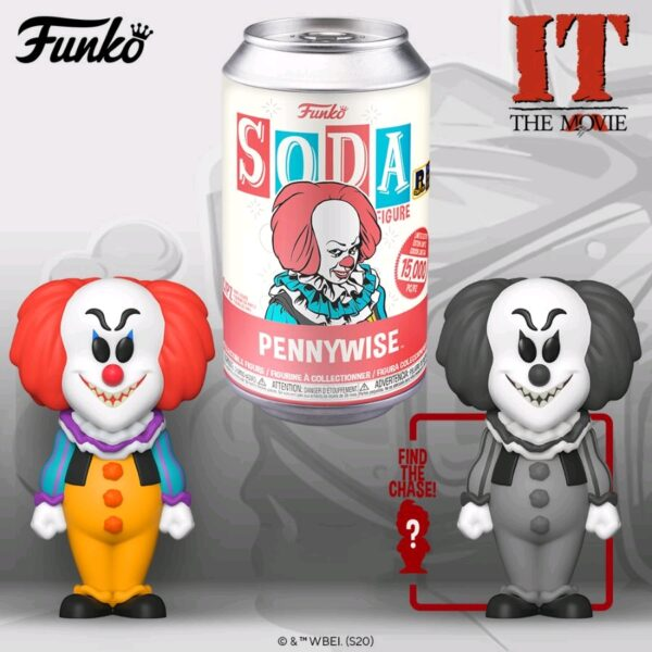 It (1990) - Pennywise Vinyl Soda Can Figure