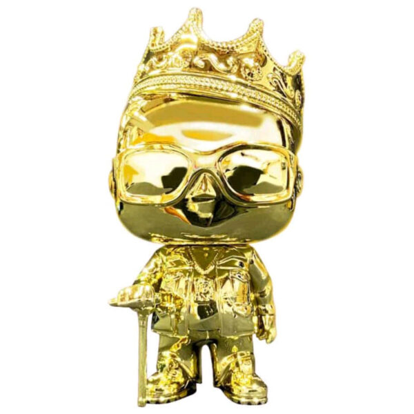Notorious B.I.G. - Notorious B.I.G. with Crown Gold Chrome Pop! Vinyl Figure