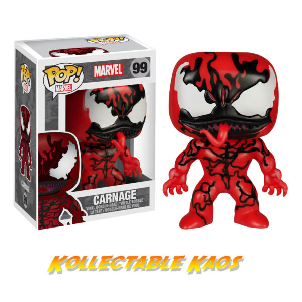 Spider-Man - Carnage Pop! Vinyl Figure