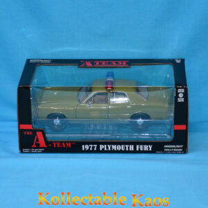 1:24 Greenlight - A-Team (1983-87 TV Series) 1977 Plymouth Fury US Army Police