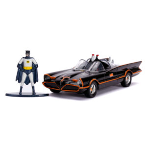 1:32 Jada Hollywood Ride - Batman (1966) - Batmobile with Figure