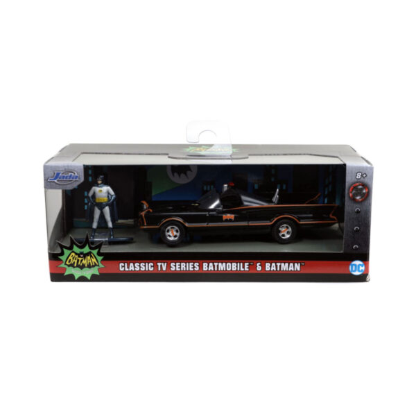 1:32 Jada Hollywood Ride - Batman (1966) - Batmobile with Figure