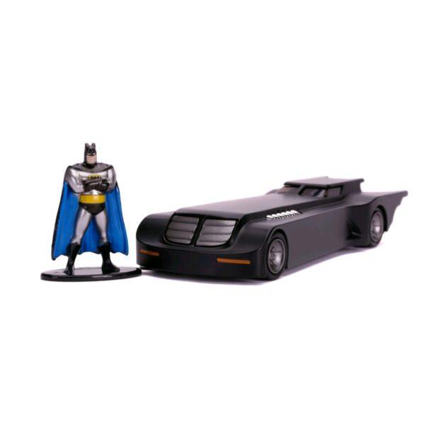 :32 Jada Hollywood Ride - Batman The Animated Series - Batmobile with Figure