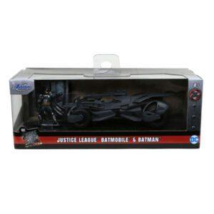 1:32 Jada Hollywood Ride - Justice League Movie - Batmobile with Figure