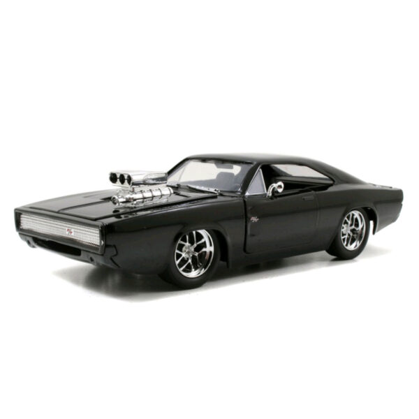 1:24 Jada Hollywood Ride - Fast & Furious - 1970 Dodge Chargers Street - Black