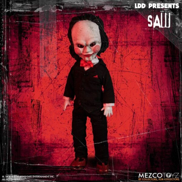 """LDD Presents - Saw Billy the Puppet 25cm(10"""") Living Dead Doll"""