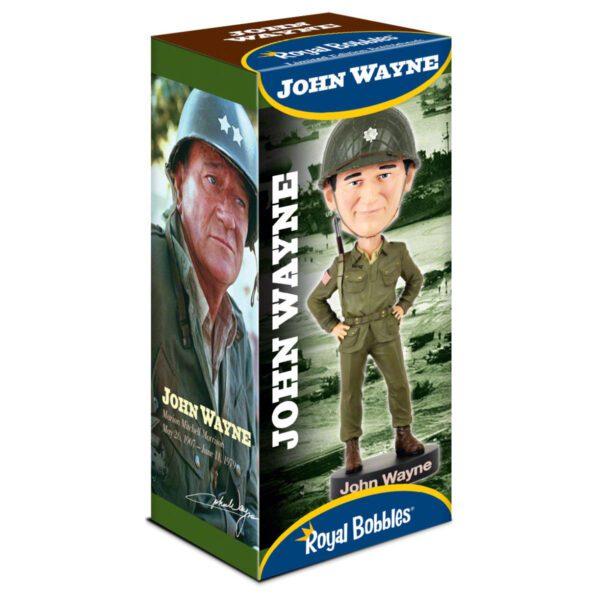 Bobblehead - John Wayne World War 2 20cm Bobblehead