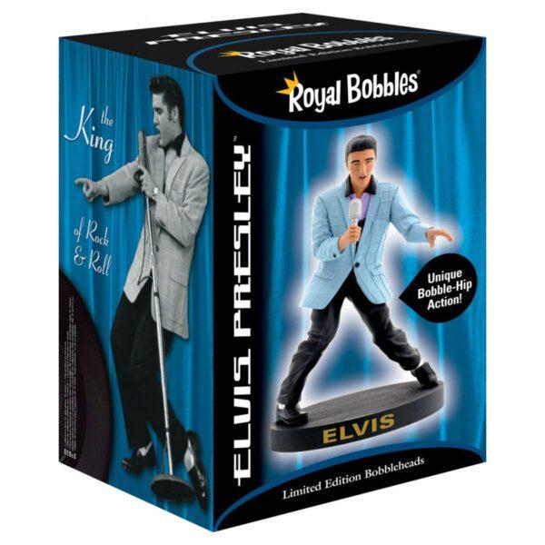 Bobblehips - 17cm Elvis Presley 56 Blue