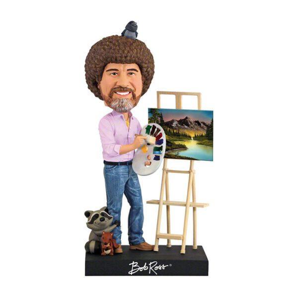 Bobblehead - Bob Ross 20cm Bobblehead