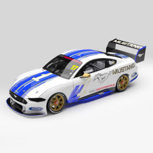 1:18 2019 Adelaide 500 Parade of Champions - Ford Mustang GT Supercar - #17 Dick Johnson