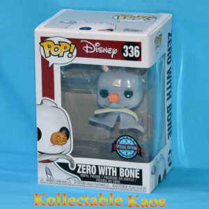 The Nightmare Before Christmas - Zero with Bone Pop! Vinyl Figure