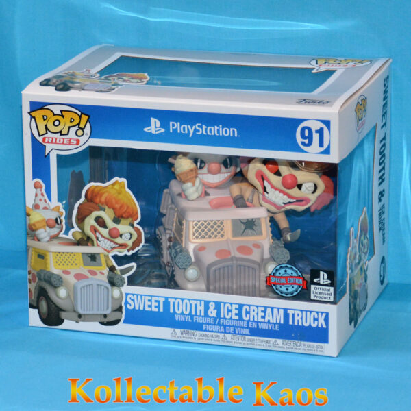 Twisted Metal - Sweet Tooth & Ice Cream Truck Pop! Rides Figure