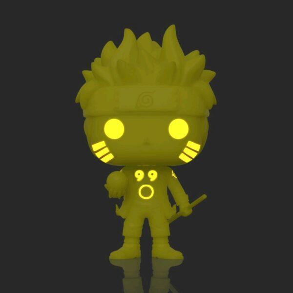 Naruto - Naruto Six Path Yellow Glow in the Dark Pop! Vinyl Figure