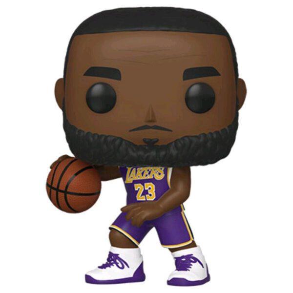 NBA Basketball - LeBron James L.A. Lakers Purple Uniform Pop! Vinyl Figure