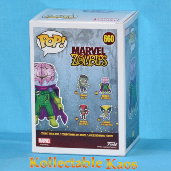 Marvel Zombies - Mysterio Zombie Glow in the Dark Pop! Vinyl Figure