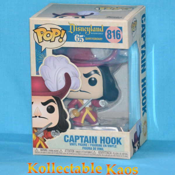 Peter Pan - Captain Hook Disneyland 65th Anniversary Pop! Vinyl Figure