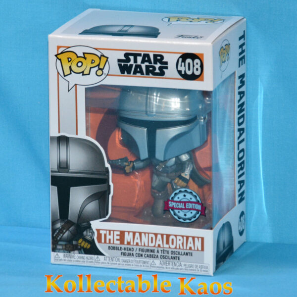 Star Wars: The Mandalorian - The Mandalorian with Jetpack Pop! Vinyl Figure
