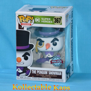 Batman - Penguin as Snowman Holiday Pop! Vinyl Figure