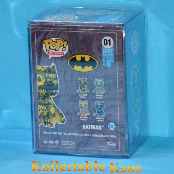 Batman - Batman Black & Yellow Artist Series Pop! Vinyl Figure with Pop! Protector
