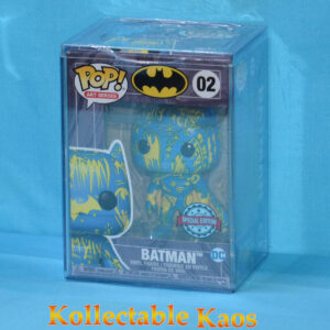 Batman - Batman Blue & Yellow Artist Series Pop! Vinyl Figure with Pop! Protector