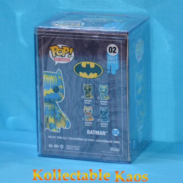 Batman - Batman Blue & Yellow Artist Series Pop! Vinyl Figure with Pop! Protector