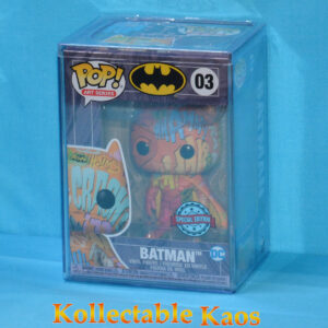 Batman - Batman Orange Artist Series Pop! Vinyl Figure with Pop! Protector