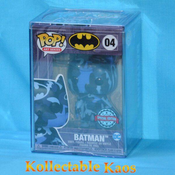 Batman - Batman Blue & Black Artist Series Pop! Vinyl Figure with Pop! Protector