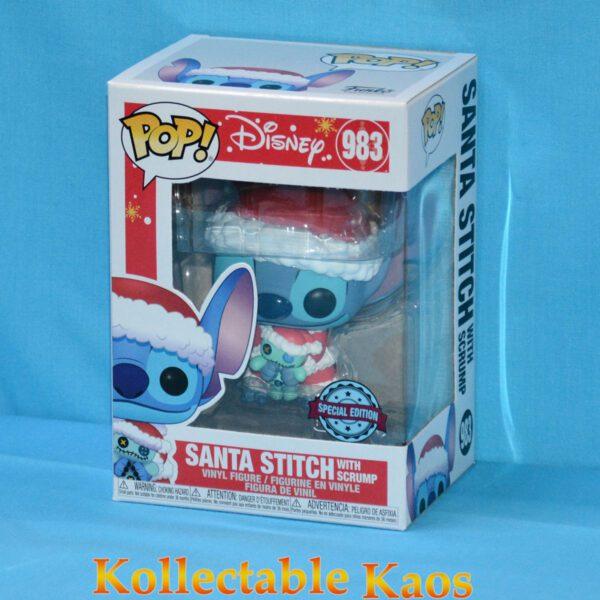 Lilo & Stitch - Santa Stitch with Scrump Pop! Vinyl Figure