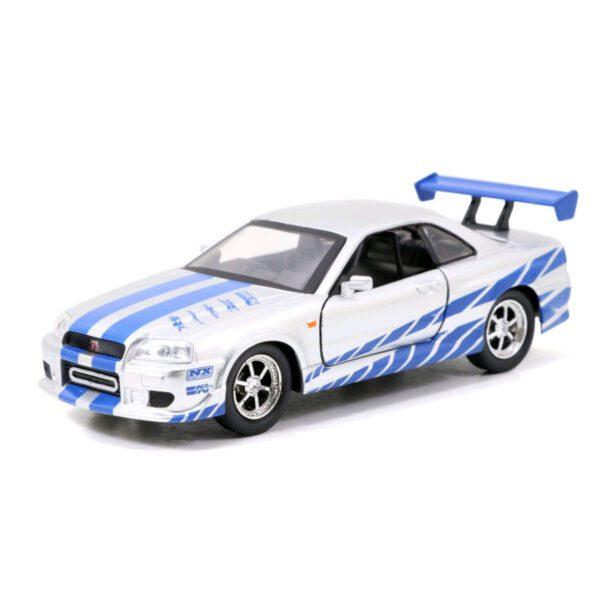 1:32 Jada Hollywood Rides - Fast & Furious - 2002 Nissan Skyline GTR R34 Silver