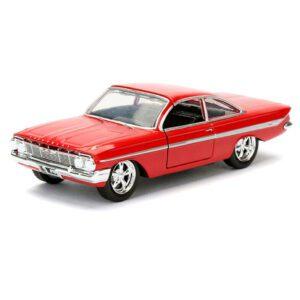 1:32 Jada Hollywood Rides - Fast & Furious - 1961 Chevy Impala