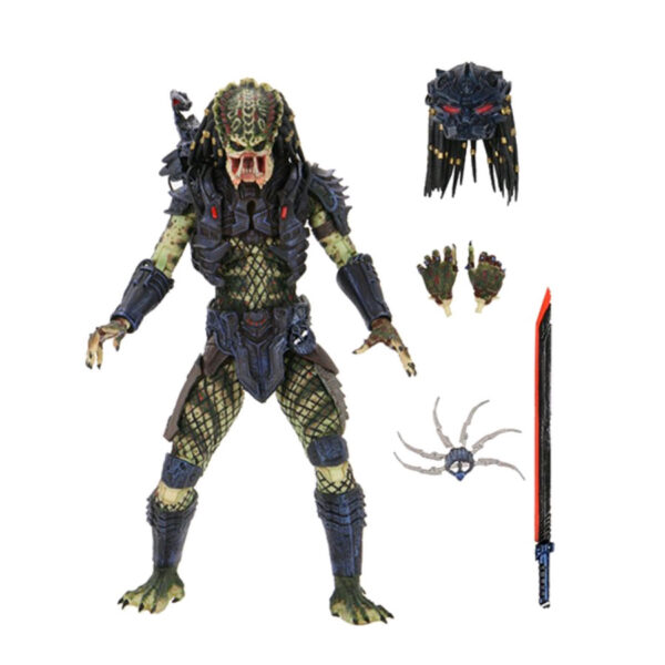 "Predator 2 - Armoured Lost Predator Ultimate 17cm(7"") Action Figure"