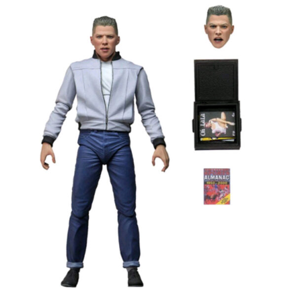 """Back to the Future - Biff Tannen Ultimate 17cm(7"""") Action Figure"""