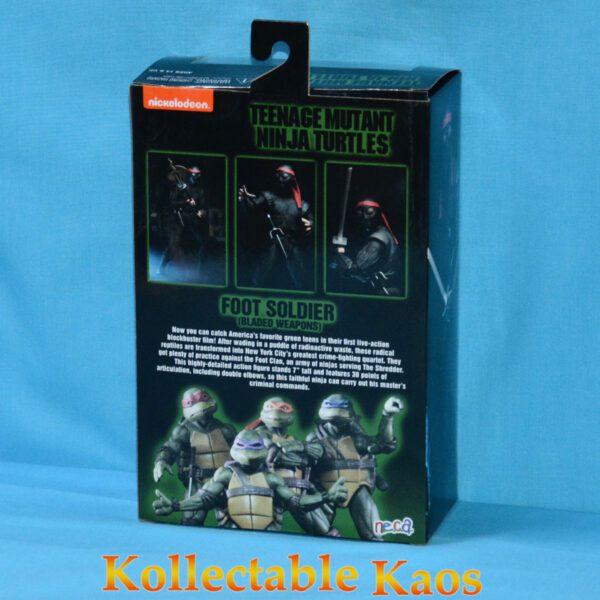 "NEC54111 TMNT 1990 Foot Soldier Bladed Figure 2 600x600 - Teenage Mutant Ninja Turtles (1990) - Foot Soldier Bladed 17cm(7"") Action Figure"