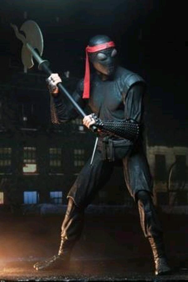 "NEC54111 TMNT 1990 Foot Soldier Bladed Figure 3 - Teenage Mutant Ninja Turtles (1990) - Foot Soldier Bladed 17cm(7"") Action Figure"